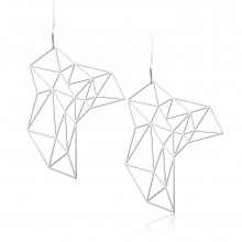 Stone Earrings M (Silver) - Moorigin