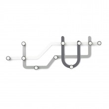 Subway Multi Hook Rack (Assorted) - Umbra