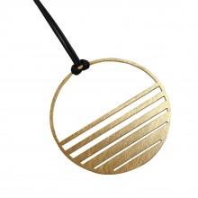 Sunset Round Pendant - A Future Perfect