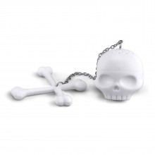 T-Bone Skull Tea Infuser (Silicone)