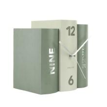 Table Clock Book (Green) - Karlsson