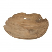 Teak Plate Thin (Small) - Pols Potten