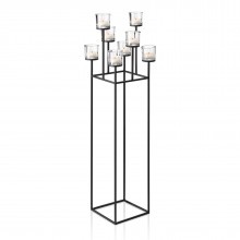 Tealight Candle Holder NERO 128cm - Blomus