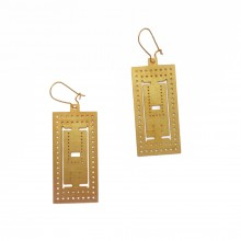 The Parthenon Earrings - A Future Perfect