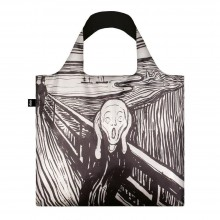 The Scream by Edvard Munch Foldable Shopping Bag - Loqi