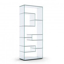 Liber A Glass Display Unit - Tonelli Design