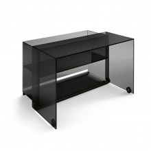Server Glass Console Writing Desk - Tonelli Design