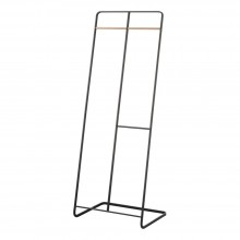 Tower 2-Level Coat Rack (Black) - Yamazaki