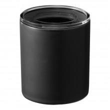 Tower Ceramic Canister Large (Black) - Yamazaki