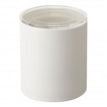 Tower Ceramic Canister Large (White) - Yamazaki