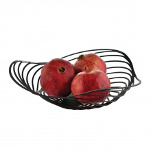 Trinity Fruit Holder (Black) - Alessi