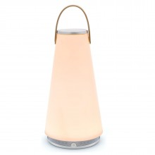 UMA Sound Lantern LED (Silver / White) - Pablo Designs