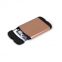 Bungee RFID-Blocking Card Holder Wallet (Copper) - Umbra