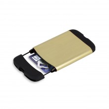 Bungee RFID-Blocking Card Holder Wallet (Gold) - Umbra