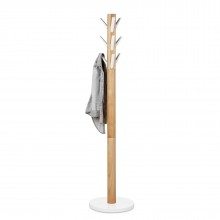 Flapper Coat Rack  (White / Natural) - Umbra
