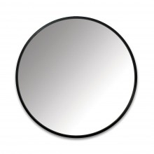 Hub Wall Mirror 24 Inch (Black) - Umbra