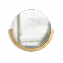 Mira Wall Mirror (Natural) - Umbra