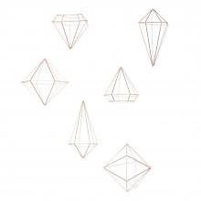 Prisma Wall Decor Set of 6 (Copper) - Umbra
