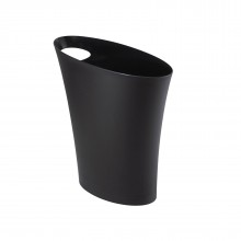 SKINNY Trash Can / Waste Bin (Black) - Umbra
