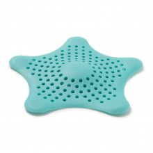 Starfish Drain Hair Catcher (Surf Blue) - Umbra