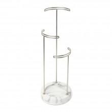 Tesora Jewelry Stand (White / Nickel) - Umbra