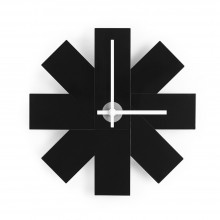 Watch Me Wall Clock (Black) - Normann Copenhagen