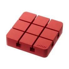 Web Cable Organizer Large (Red) - Yamazaki