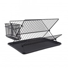 Wire Dish Rack (Black) - Present Time
