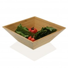 Wooden Salad / Fruit Bowl (Bamboo) - Versa