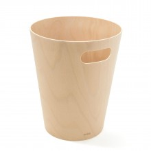 Woodrow Trash Can (Natural) - Umbra