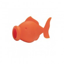 YolkFish Egg Yolk Separator (Orange) - Peleg Design