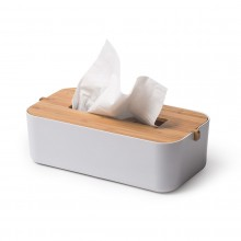 Zen Tissue Box (White) - LEXON