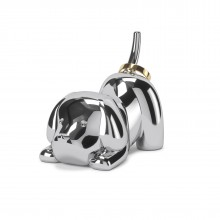 Zoola Puppy Ring Holder (Chrome) - Umbra