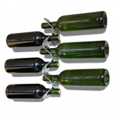 Forminimal Wine Bottle Rack - Black+Blum