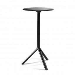 MIURA High Round Table Diameter 60 cm (Black / Metal ) - PLANK