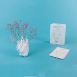 Love in Bloom Vase (White) - Seletti