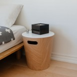 Mini Stowit Jewelry Storage Box (Black / Walnut) - Umbra