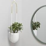 Bolo Hanging Planter (White) - Umbra