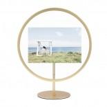 INFINITY Photo Frame 10 x 15 cm. (Matte Brass) - Umbra
