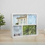 Edge Multi Desk Photo Frame (Marble) - Umbra