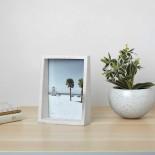 Edge Photo Display - 13 x 18 cm (Marble) - Umbra