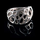 Twist Ring 2-Layer (Steel) - Nervous System