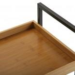 Bamboo Wheeled Shelving Unit - Versa