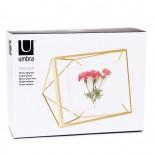 Prisma Photo Display 10 x 15 cm (Mat Brass) - Umbra