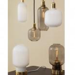 Amp Table Lamp (White / Brass) - Normann Copenhagen