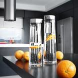 ACQUA Water Carafe 1.5L (Clear / Steel) - Blomus