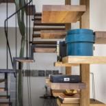 Adelaide Wood Bookcase / Shelving Unit - Mogg