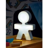Girotondo Table Lamp (White) - Alessi