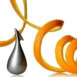 Apostrophe Orange Peeler (Stainless Steel) - Alessi