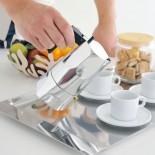 Ossidiana Espresso Coffee Maker 3 Cups (Aluminum) - Alessi